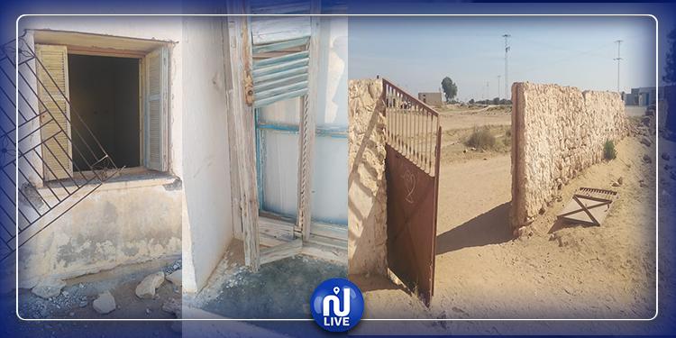 سيدي بوزيد: مدرسة العكارمة في وضعية كارثية ومطالب استعجالية بإصلاحها  (صور)