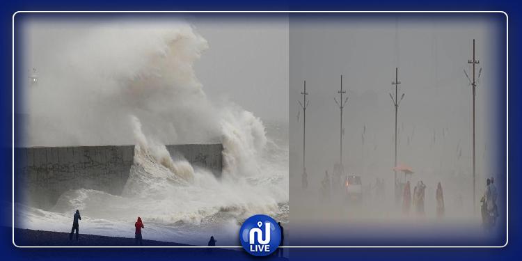 بريطانيا: العاصفة ''كيارا'' تتسبب في إلغاء رحلات جوية ومباريات
