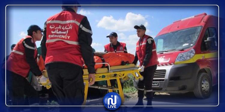 باردو: حادث مروري يتسبب في اصابات خطيرة لفتاة