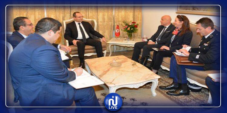 لقاء وزير الداخلية بسفير فرنسا بتونس
