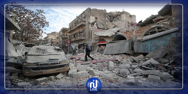 شمالي سوريا:  صاروخ يقتل 3 عائلات بضربة واحدة