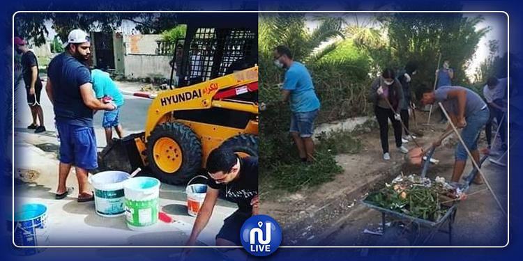 تنفيذ حملات نظافة ببلديات منزل بورقيبة وراس الجبل والعالية