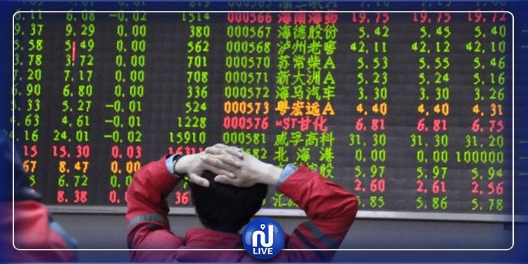 Coronavirus : les bourses chinoises s'effondrent