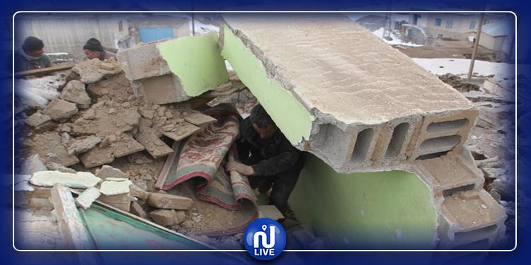 ارتفاع حصيلة ضحايا  زلزال الحدود التركية الإيرانية