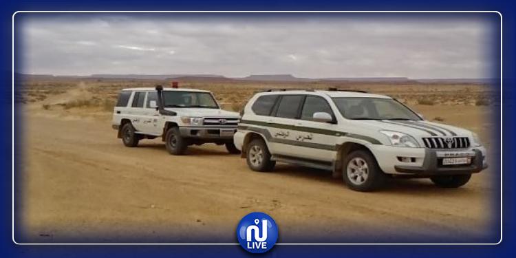 القصرين: ضبط 10 أشخاص بصدد اجتياز الحدود البرية خلسة