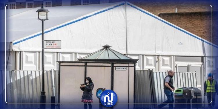 لندن: ابتكار مشرحة متنقلة للتعامل مع ضحايا كورونا (صور)