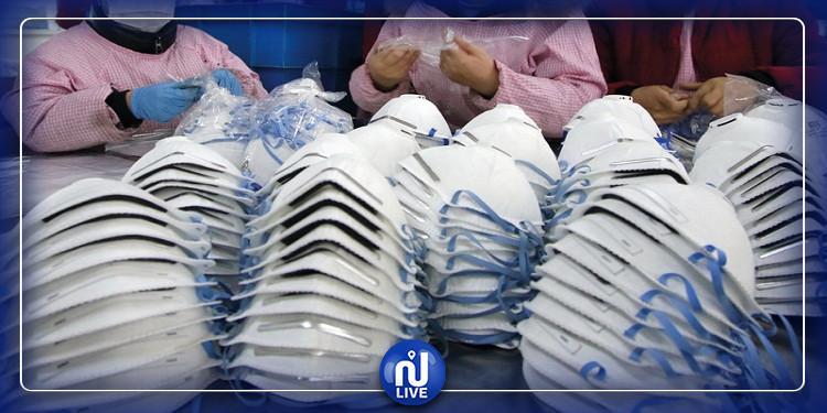 باجة: مصنع خياطة يبادر بصنع 7000 كمامة طبية