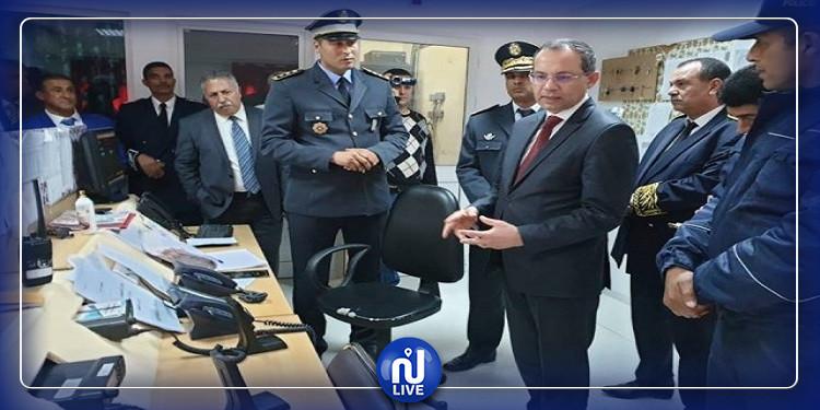 مدنين: وزير الداخلية يدشن مركزين نموذجيين للأمن والحرس الوطنيين