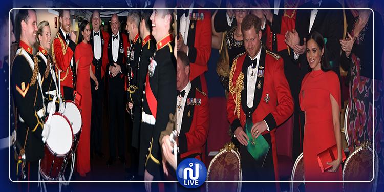 ظهور الأمير هاري وميغان ماركل في آخر جولاتهما الملكية (صور)