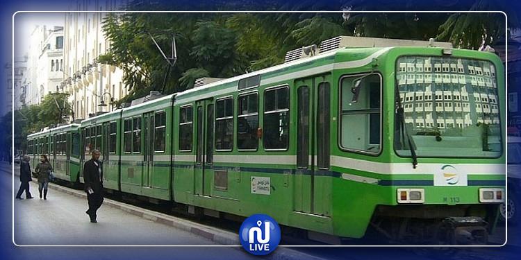 باردو: انقطاع حركة سير خطوط المترو رقم 4 بإتجاه العاصمة