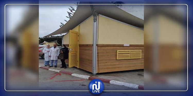 جندوبة: توفير 6 غرف متنقلة لإجراء التحاليل للأشخاص قبل دخول المستشفيات
