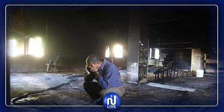 المتلوي:  سرقة مسجد و إضرام النار فيه
