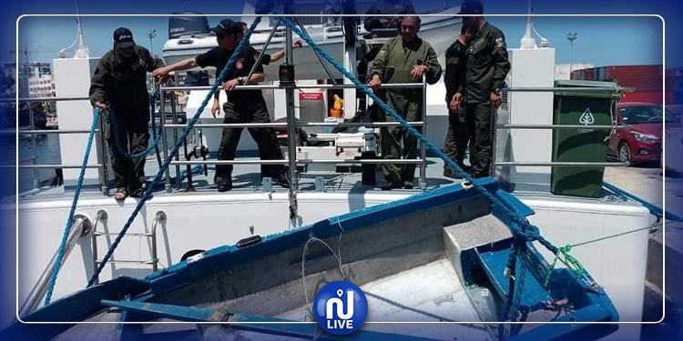 سوسة: ضبط 7 أشخاص بصدد إجتياز الحدود البحرية خلسة نحو إيطاليا (صور)