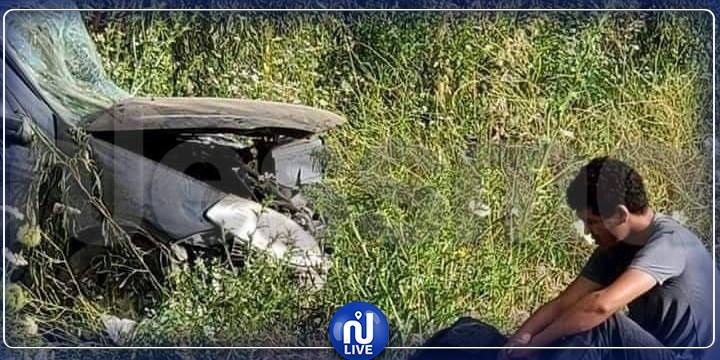 جندوبة: حادث مروري قاتل يودي بحياة شخص وإصابة اثنين آخرين (صور)