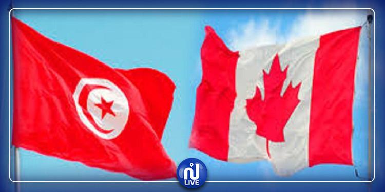 دعم التعاون العسكري بين تونس وكندا