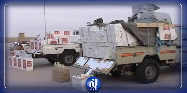 Tataouine : Saisie de cigarettes de contrebande d'une valeur de 200 000 dinars