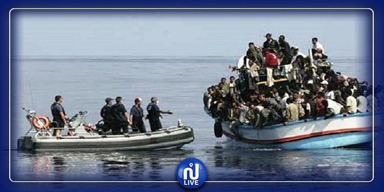 قليبية: ضبط 6 أشخاص بصدد اجتياز الحدود البحرية خلسة