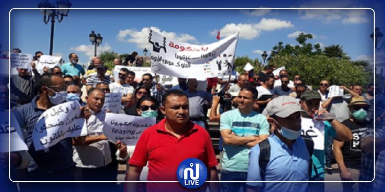 بنزرت: وقفة احتجاجية تنديدا بقرار تجميد الانتدابات