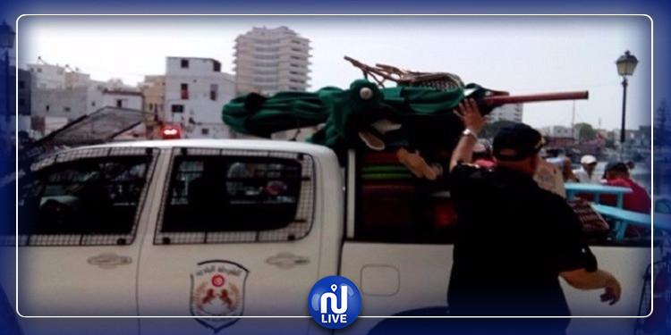 الحرس الديواني بمنوبة يضبط سلع مهربة من الجزائر بقيمة 361 ألف دينار