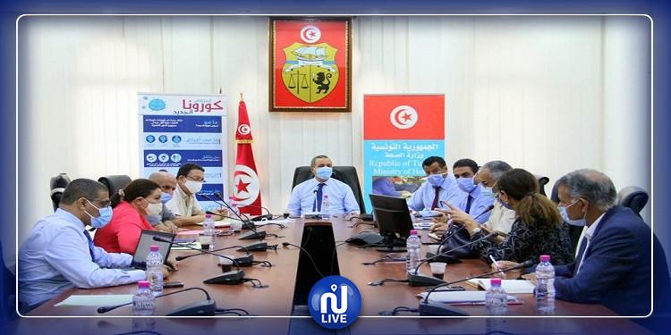 وزير الصحة يشرف على جلسة عمل تهم مستشفى الرازي