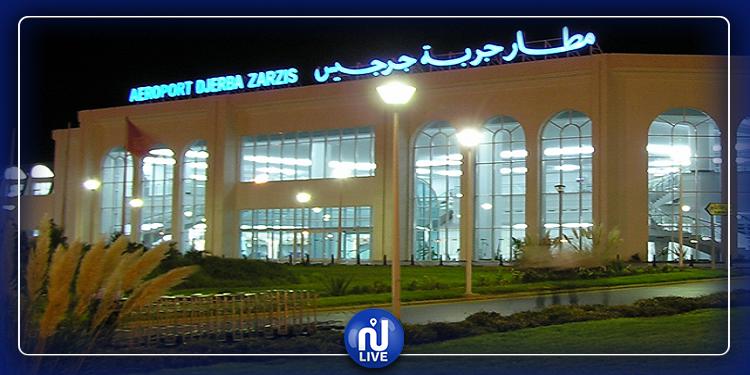 مدنين: وصول أول طائرة إلى مطار جربة جرجيس الدولي