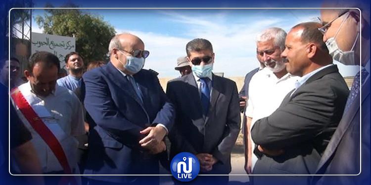 الكاف: إحالة ملفات المتضررين من حجر البرد مؤخرا على رئاسة الحكومة (صور)