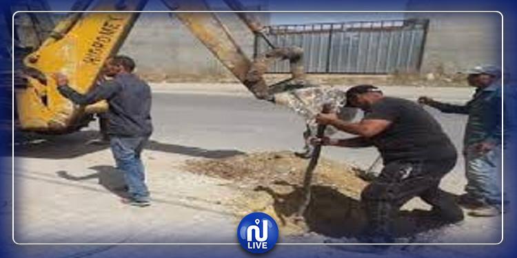 انطلاق مشروع تنوير مدخل مدينة منزل بورقيبة من جهة معتمدية ماطر
