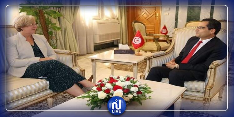 فحوى لقاء وزير الخارجية بسفيرة المملكة المتحدة
