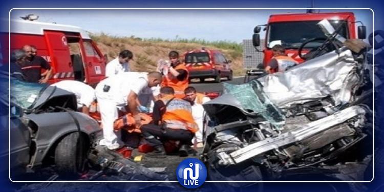 تسجيل 104 حادث  منذ انطلاق برنامج العطلة الآمنة