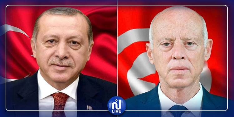 أردوغان يهاتف سعيّد بمناسبة عيد الاضحى