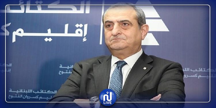 انفجار بيروت: وفاة أمين عام حزب الكتائب اللبنانية
