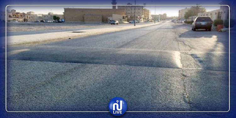 800 مخفض سرعة عشوائي على الطرقات المرقمة التونسية