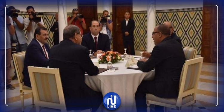 المشيشي يلتقي رؤساء الحكومات السابقين