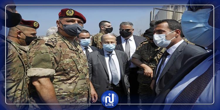 الرئيس اللبناني: سبب انفجار بيروت لا يزال مجهولا واحتمال تدخل خارجي وارد