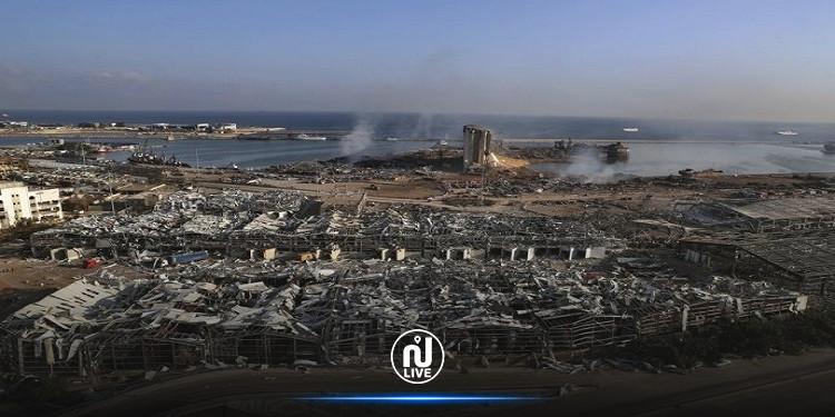 العثور  على مفرقعات ''معلبة''  في مرفأ بيروت