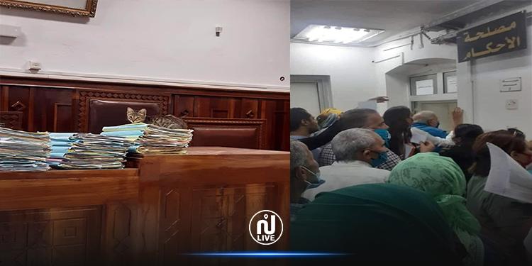 محكمة تونس: قطة تنام على ملفات قد يقضي صاحب أحدها 20 سنة سجنا! (صور)