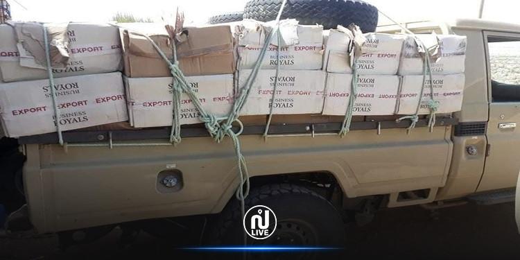 بن قردان: الحرس الديواني يحجز 22500 علبة سجائر