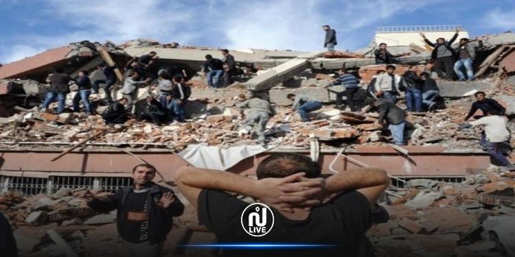 حصيلة أولية لضحايا زلزال تركيا