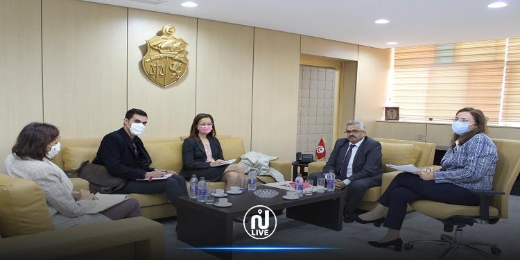 فحوى لقاء وزير العدل بممثلة المفوضية السامية لحقوق الانسان بتونس