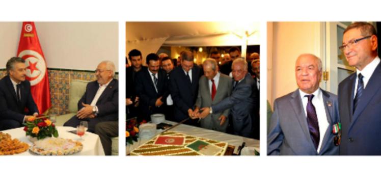 مشاركة شخصيات وطنية من تونس في الإحتفال بالذكرى الـ 61 لإندلاع الثورة الجزائرية