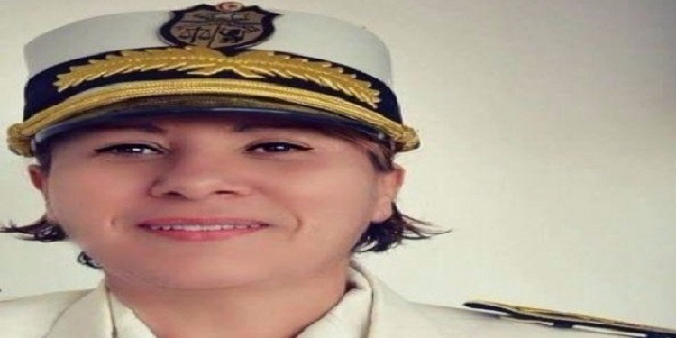 رجاء الشابي أول تونسية تحرز رتبة جنرال صنف أول