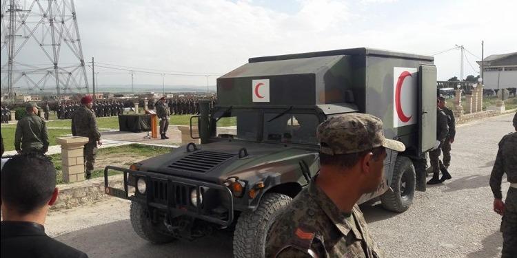 الكاف: موكب لتأبين شهيد الجيش الوطني أحمد السعايدي بحضور وزير الدفاع (صور)
