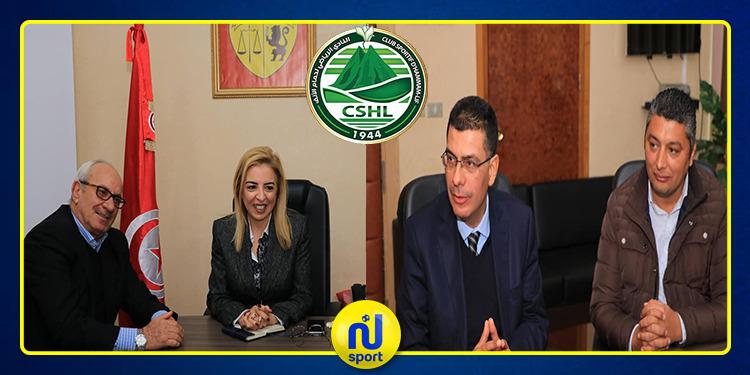 نادي حمام الانف في ضيافة وزيرة الشباب والشؤون الرياضية