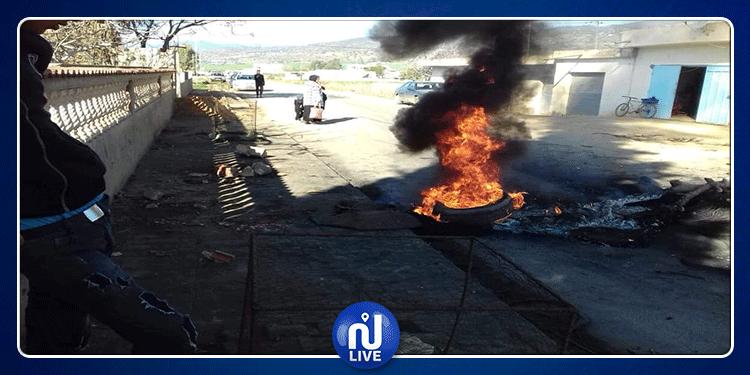 وادي مليز: محتجون يغلقون الطريق الجهوية رقم 59
