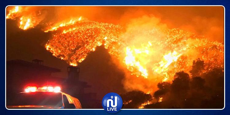 كاليفورنيا: حرائق ضخمة تجتاح المدينة و إجلاء آلاف السكان