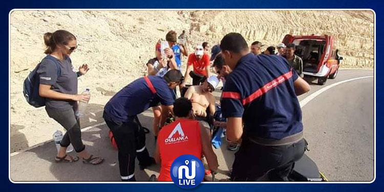 توزر: تعرض سائح إلى نوبة قلبية حادة خلال مشاركته في ماراطون بالصحراء