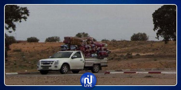 سيدي بوزيد: وقفة احتجاجية تندّد بخطر سيارات التهريب على التلاميذ