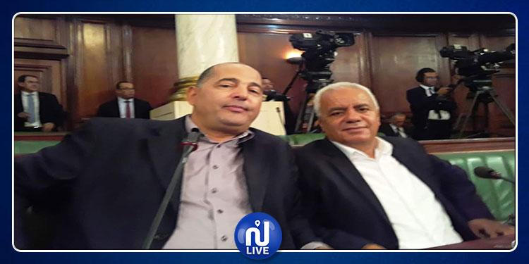 المجهول في جلسة أداء اليمين الدستورية قيادي بتحيا تونس (صور)