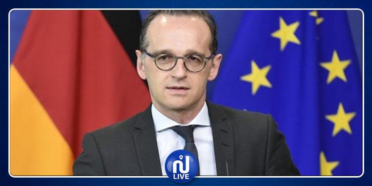 وزير خارجية ألمانيا يؤدي زيارة إلى تونس