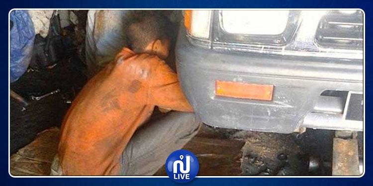 القيروان: تعرض طفل يعمل في ورشة إصلاح سيارات إلى حروق بليغة